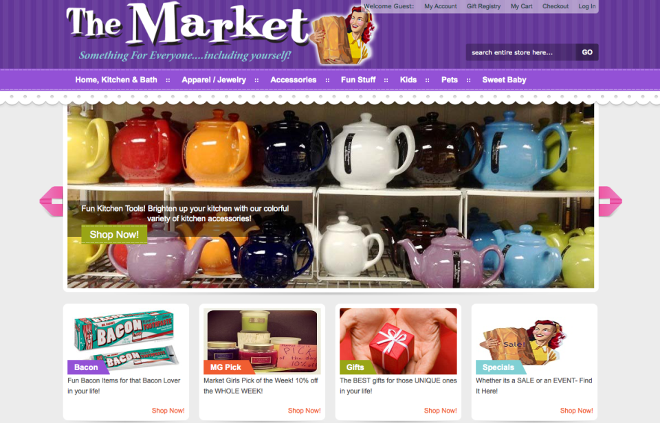 The Market Magento Site