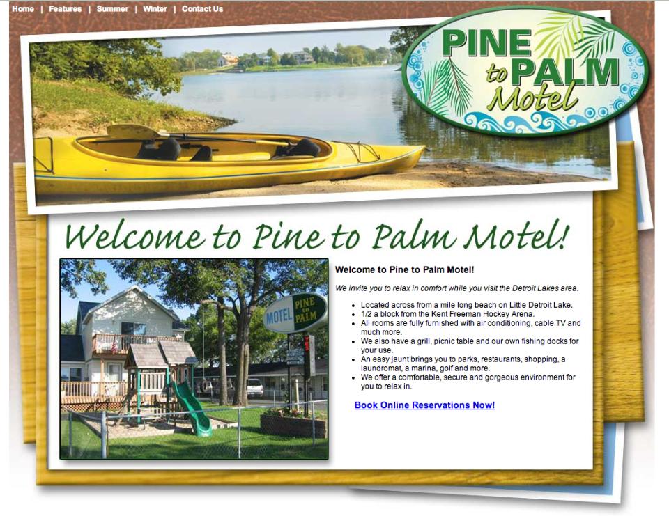 Pine to Palm – Etomite Site