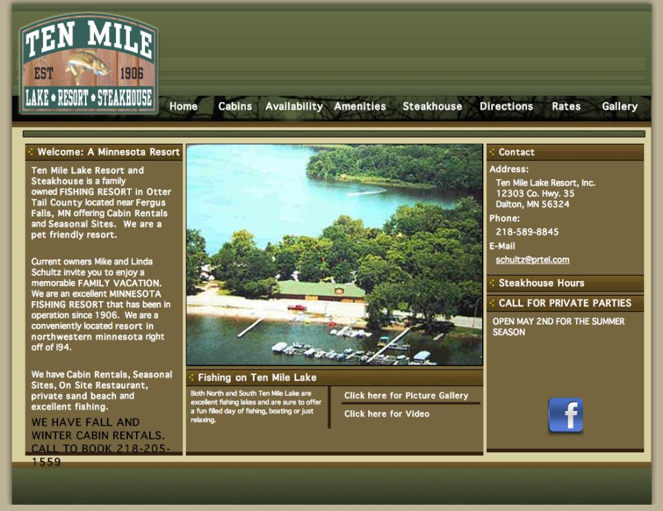Ten Mile Resort – Etomite Site