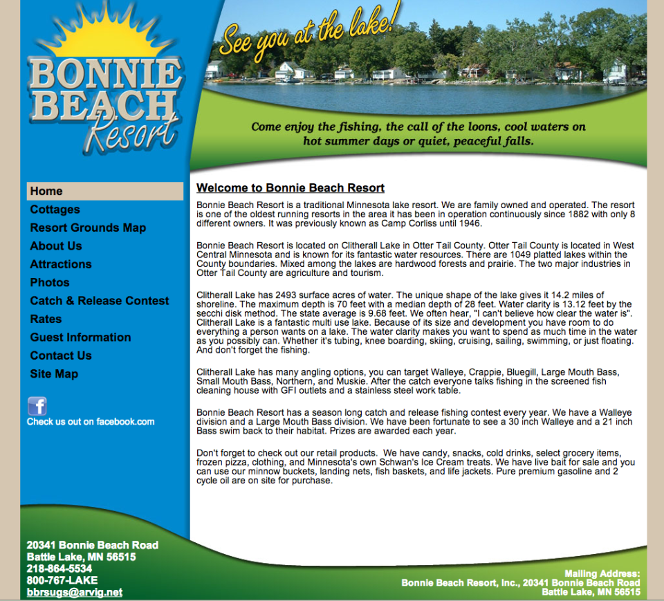 Bonnie Beach Resort – Etomite Site