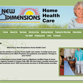 New Dimensions Home Healthcare – Etomite Site