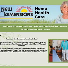 New Dimensions Home Healthcare – Etomite Site