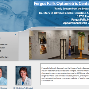 Fergus Falls Optometric Center, Ltd. – Etomite Site
