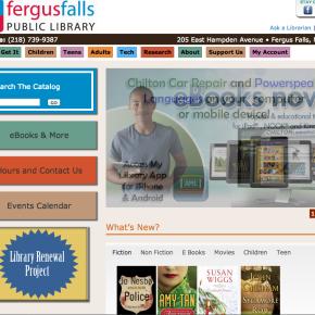 Fergus Falls Public Library – Etomite Site