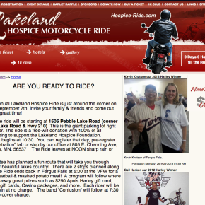 Hospice Ride – Etomite Site