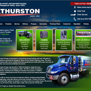 Thurston Oil – WordPress Site