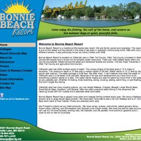 Bonnie Beach Resort – Etomite Site