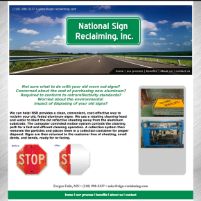 National Sign Reclaim – EtoFork Site